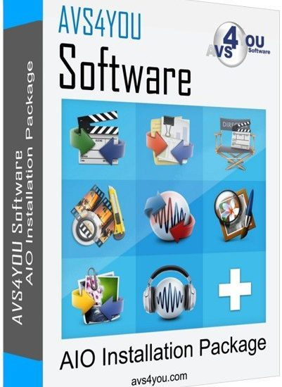 AVS4YOU Software AIO Installation Package Crack